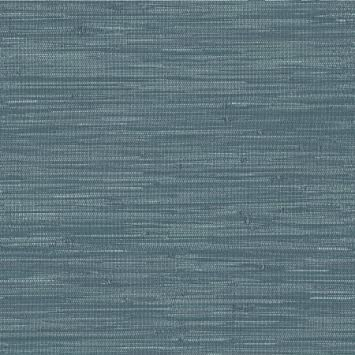 NuWallpaper by Brewster NU2874 Navy Grassweave Peel /& Stick Wallpaper