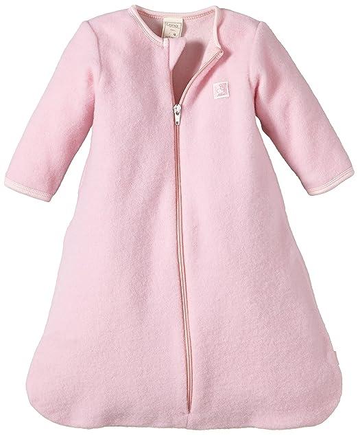 LANA Fleeceschlafsack - Saco de Dormir para niñas, Color Rosa (Puder 415), Talla 60: Amazon.es: Ropa y accesorios