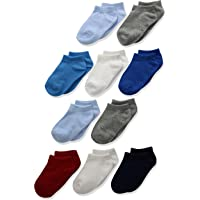 Hanes Boys' Toddler Low Cut Sock 10-Pack