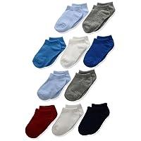 Hanes Toddler Boys' Low Cut Sock 10-Pack