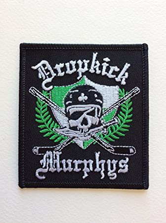 Dropkick Murphys Unisex-Adult Rock And Roll Patch