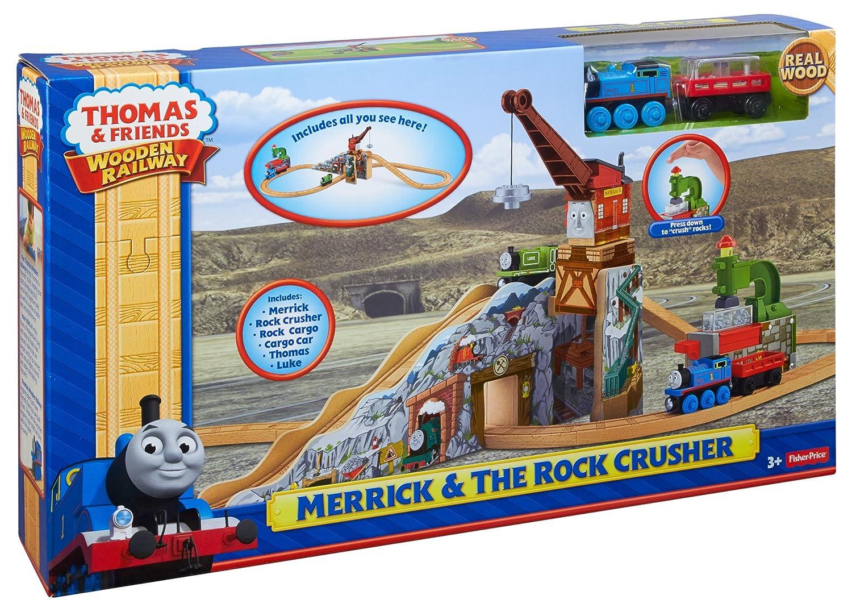 Fisher Price Thomas Friends Wooden Railway Merrick And The Rock Crusher