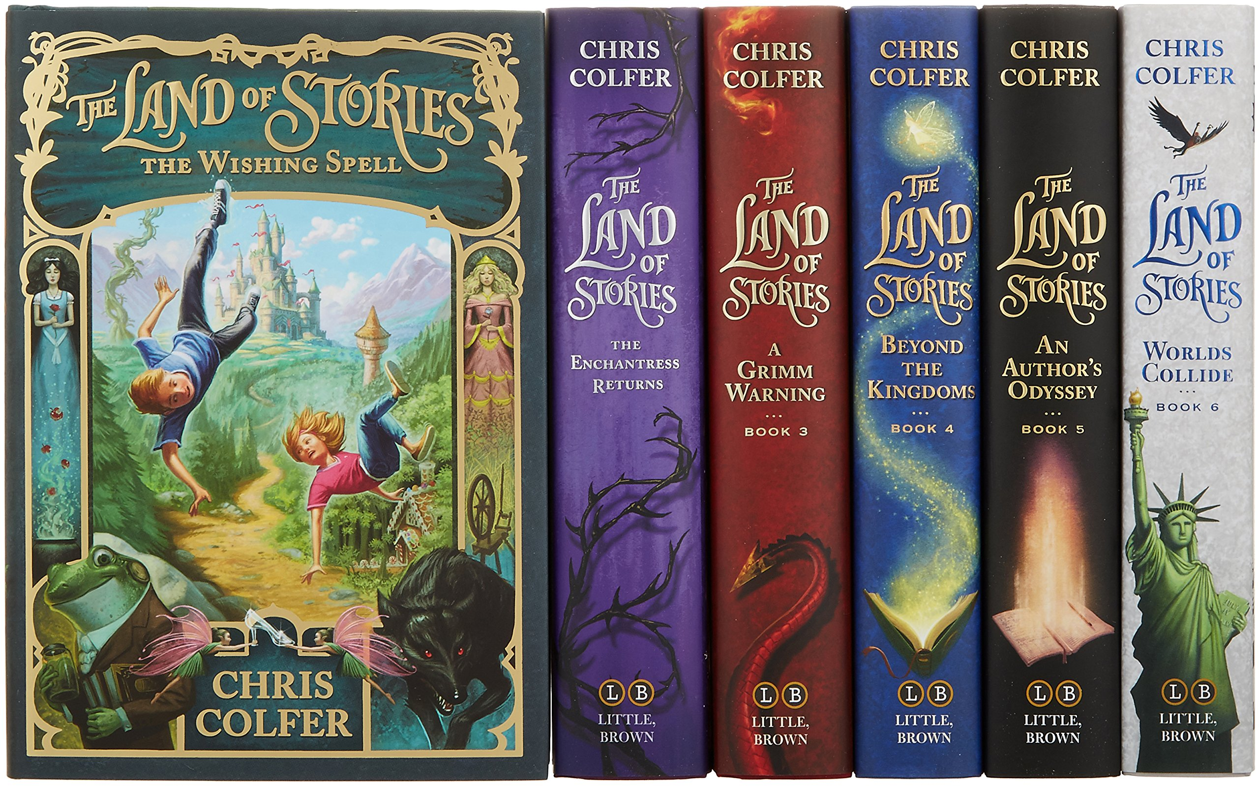 The Land of Stories Complete Hardcover Gift Set: Colfer, Chris ...