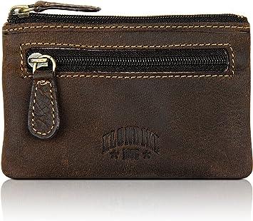 Klondike 1896 Estuche para Llaves Luke, Llavero de Cuero, Color marrón Oscuro: Amazon.es: Equipaje