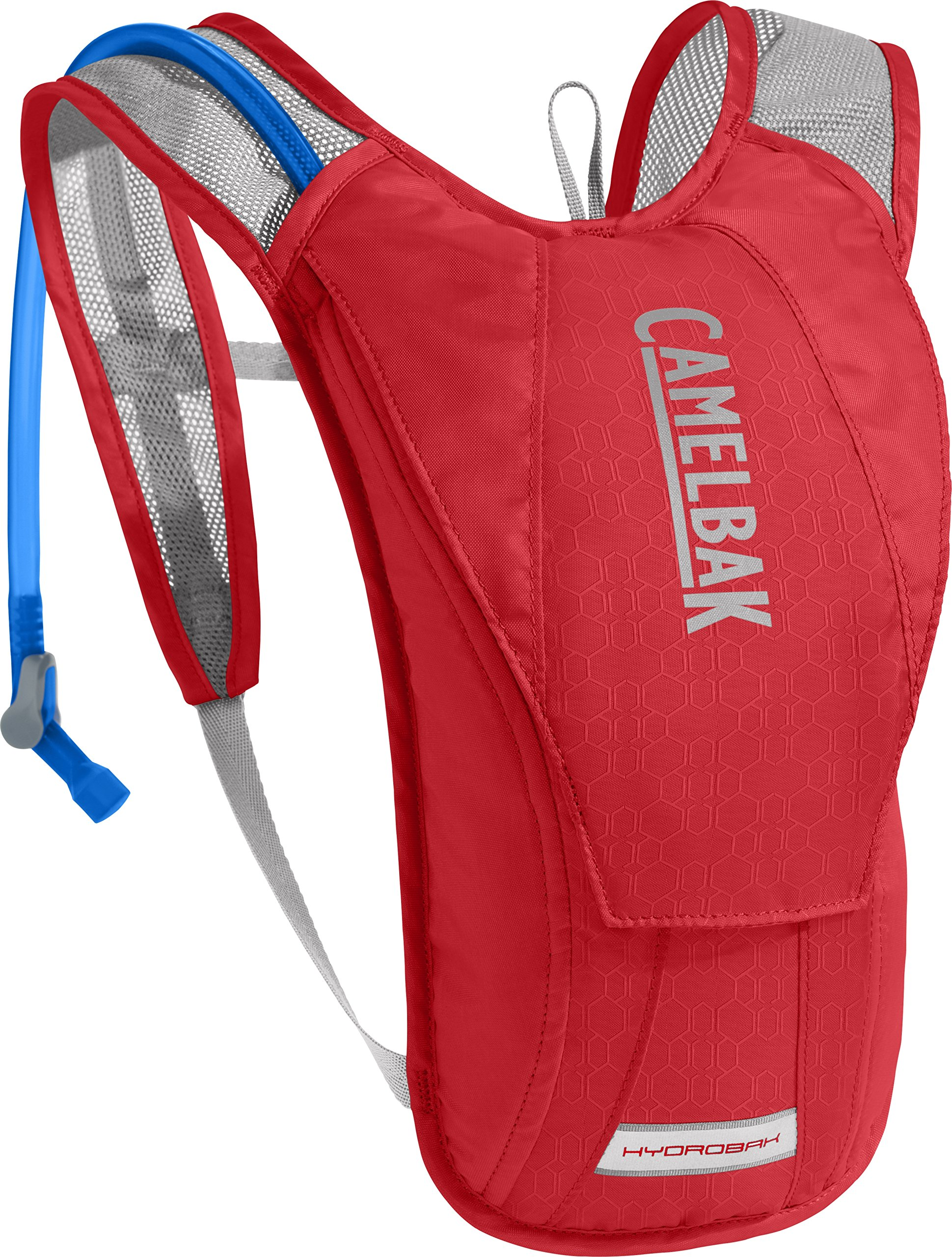 CamelBak HydroBak Crux Reservoir Hydration Pack, Racing Red/Silver, 1.5 L/50 oz by CamelBak