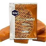 GU Energy Stroopwafel Sports Nutrition Waffle, Salty's Caramel, 16-Count