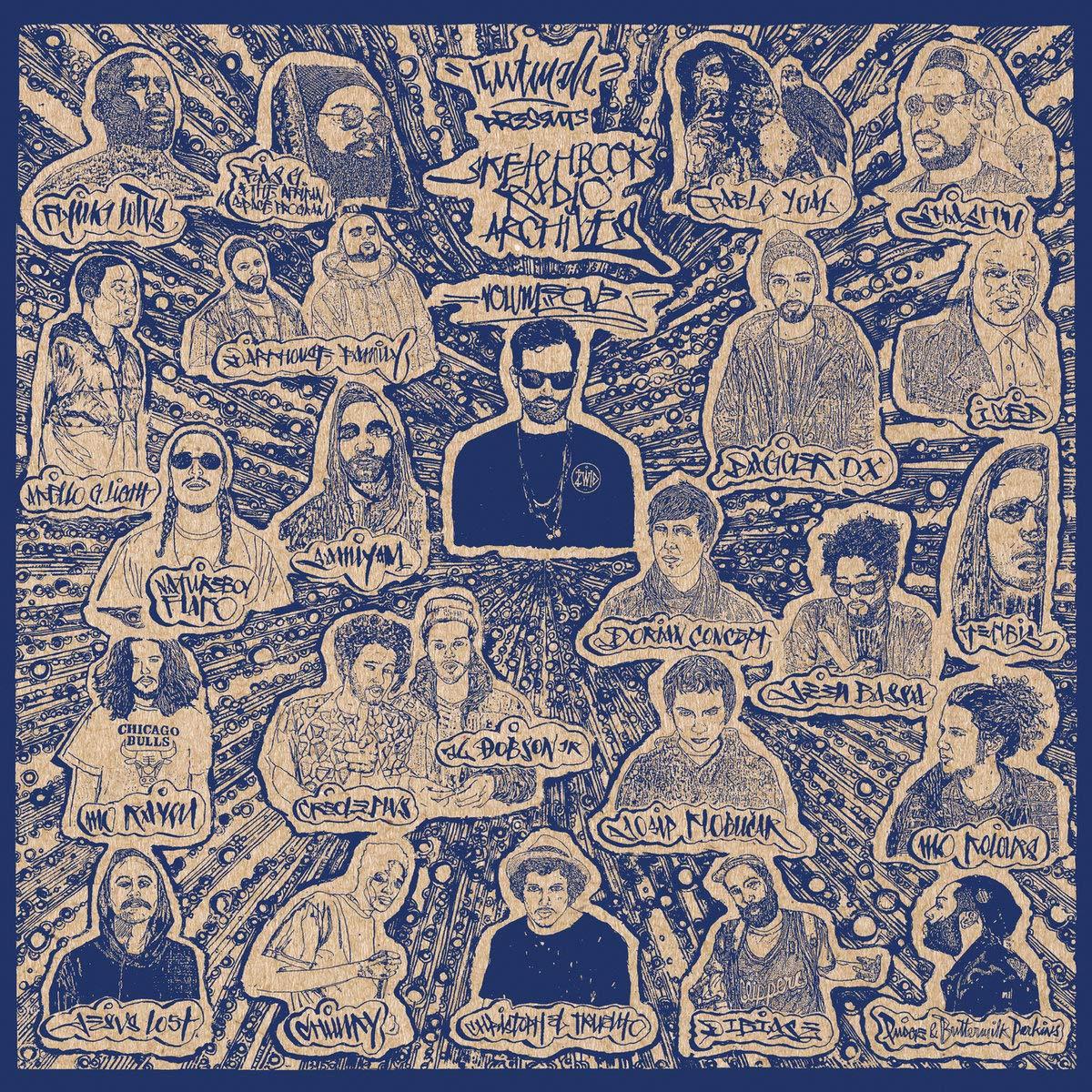 Vinilo : Kutmah Presents - Sketchbook Radio Archives Vol. 1 (LP Vinyl)