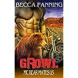 Growl (BBW Bear Shifter MC Romance) (MC Bear Mates)