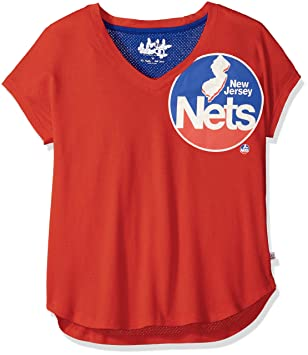 Touch by Alyssa Milano Camiseta de la NBA para mujer, mujer, 6TP40528 BCT,