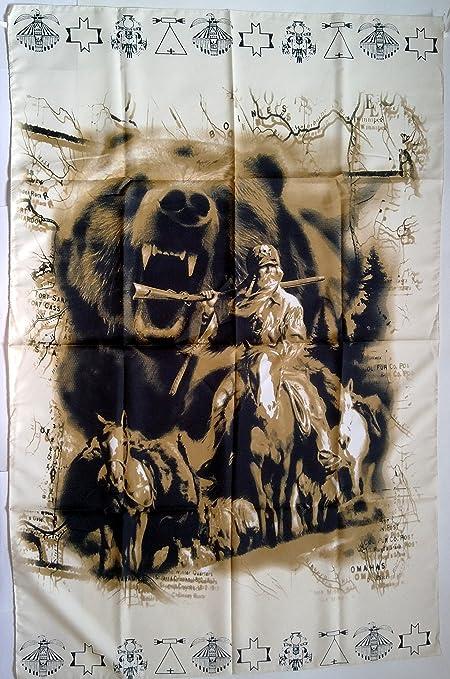 Diseño vaquero Hunter y 5 x 91,44 cm gamuza de oso de peluche Póster ...