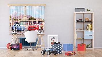 AG Design Rideaux - Cars Disney - Rideaux Photo - Impression Photo ...