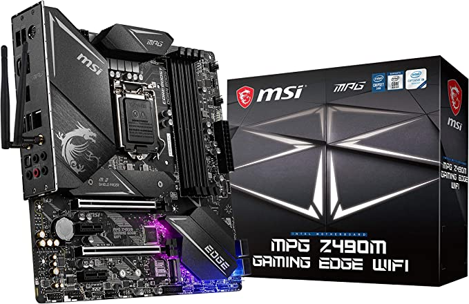 MSI - MPG Z490M Gaming Edge Wifi - Placa Base Performance Gaming ...