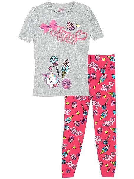JoJo Siwa - Pijama para niñas - Jojo Siwa - Ajuste Ceñido - 13 - 14