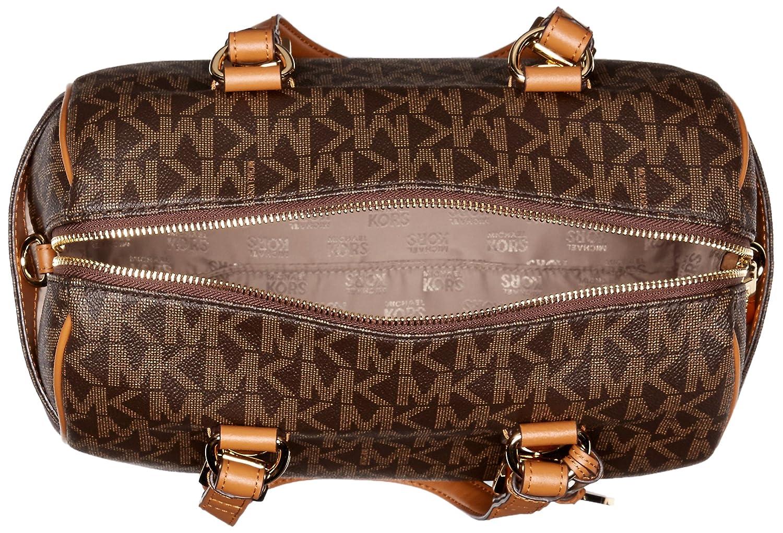 6f1274c6f46a ... usa amazon michael kors grayson medium chain signature satchel brown  acorn shoes fa636 db1d2