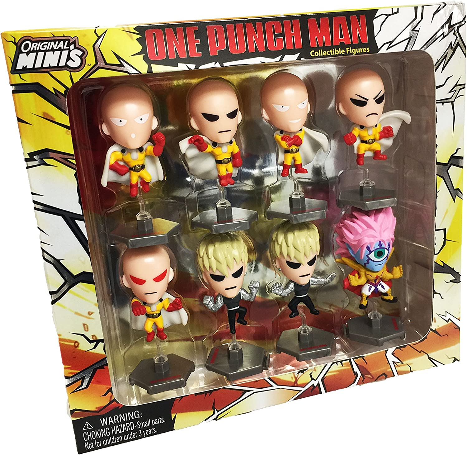 One Punch Man Mini-Figure Collection Series 1 Random 5-Pack