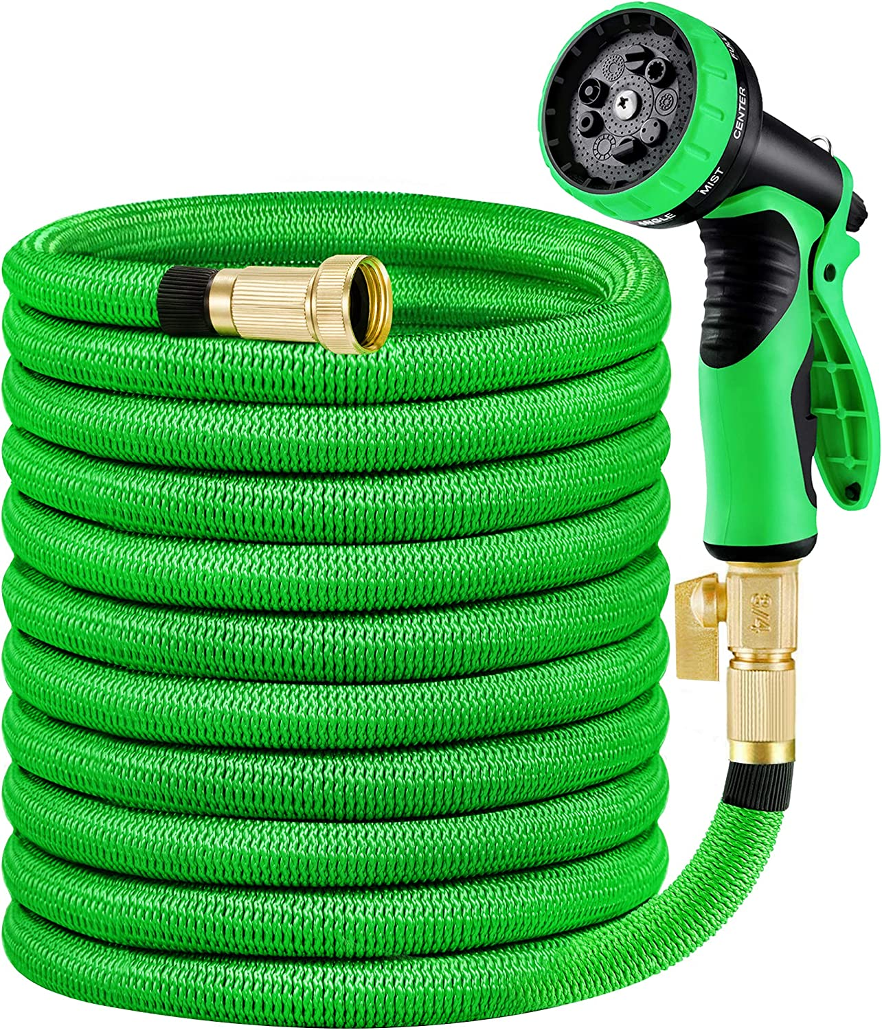 MoonLa 100ft Garden Hose, Expandable Water Hose with 3/4