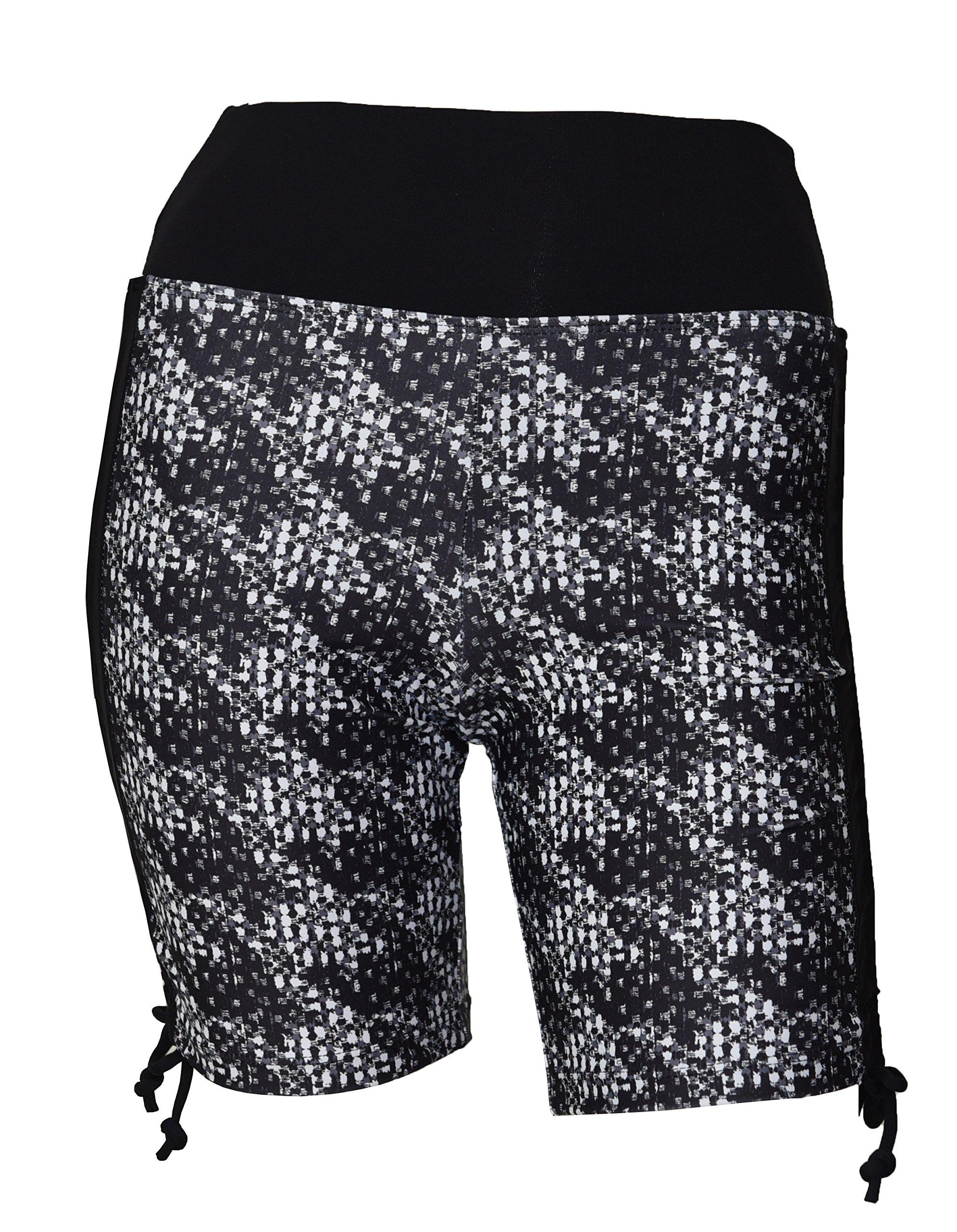 Private Island Women UV Swim Rash Guard Board Shorts Pants Yoga (XXL, BwC) by Private Island