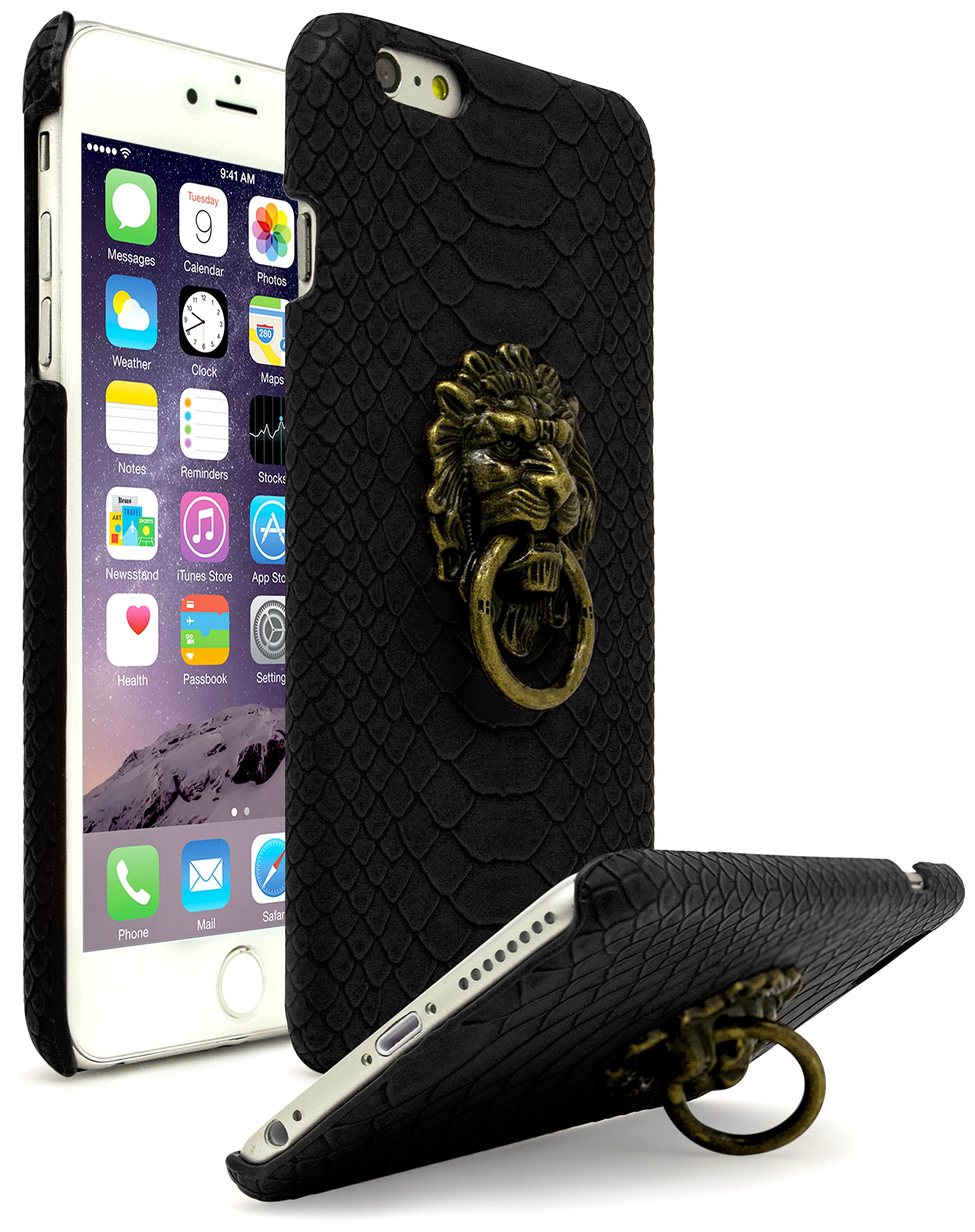 Iphone 6 Plus Case Bastex Ultra Slim Fit Protective Vintage Rock Lion Head Do.. 8