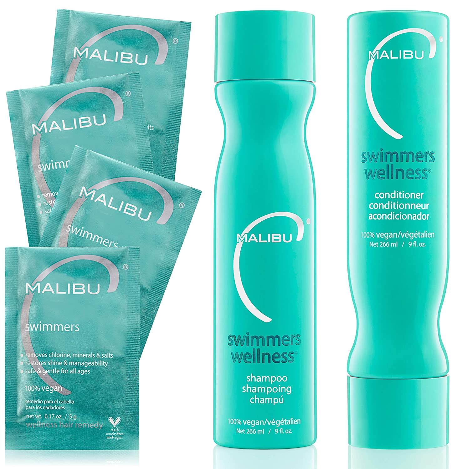 Malibu C Swimmers Wellness Treatment Kit