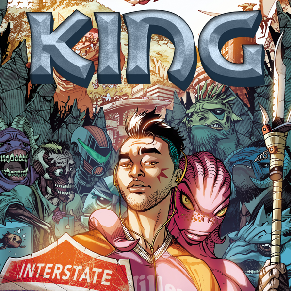 King (Issues) (5 Book Series)