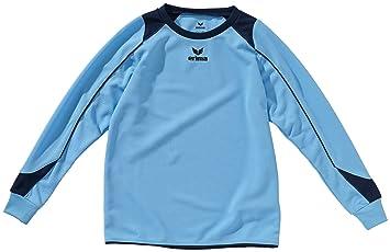 erima Trikot Santiago langarm - Camiseta de equipación de fútbol para niño, color azul,