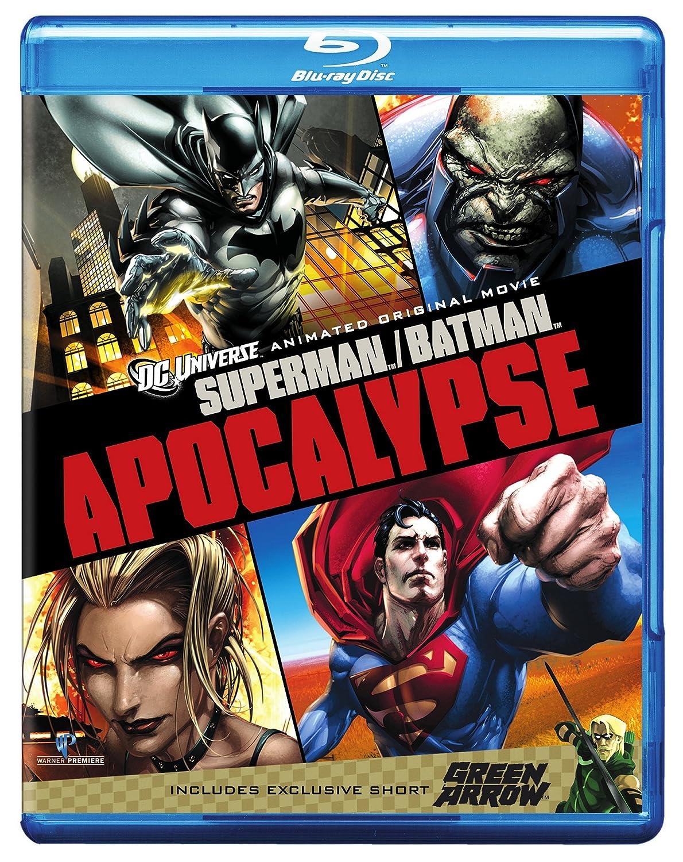 Superman/Batman:_Apocalypse [Reino Unido] [Blu-ray]: Amazon ...