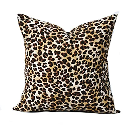 Amazon One Animal Print Pillow Covers 40x40 Home Decor Delectable Leopard Print Decorative Pillows