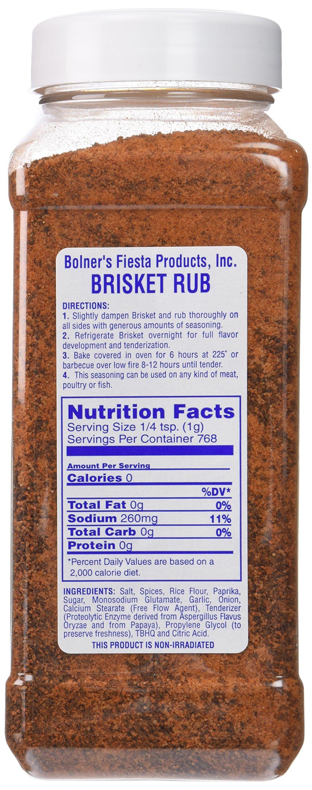 Bolner's Fiesta Extra Fancy Brisket Rub, 32 oz by Fiesta (Image #4)