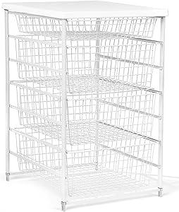 ClosetMaid 6201 4-Drawer Basket Kit, White