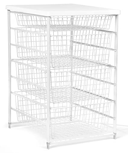 Etonnant ClosetMaid 6201 4 Drawer Basket Kit, White