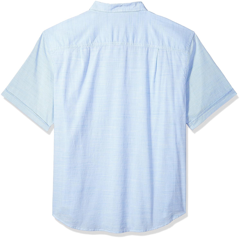 da0724b3 Amazon.com: IZOD Boys' Big and Tall Saltwater Chambray Solid Short Sleeve  Shirt: Clothing