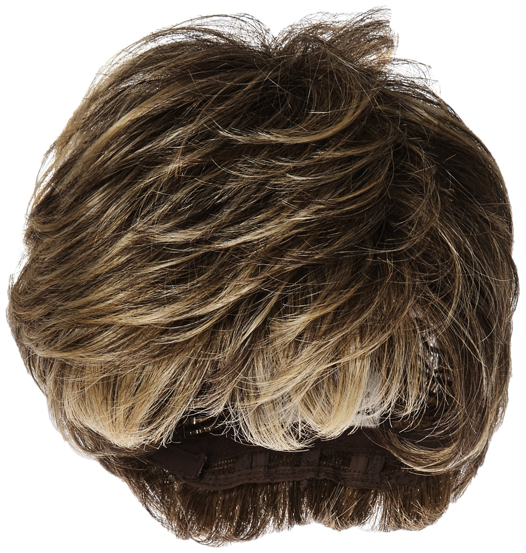 Textured Cut Wig  Color R11S+ GLAZED MOCHA - Hairdo Wigs Short Feathered Modern Tru2Life Heat Friendly Synthetic Wispy Bang by Hairdo