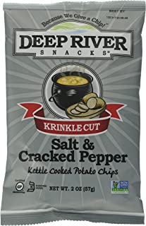 product image for Deep River Snacks Salt and Pepper Kettle Chips, 24 Count