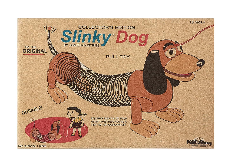 The Original Slinky Brand Slinky Dog in Retro Packaging