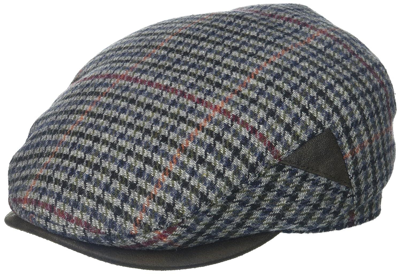 41f31af5334 Henschel Men s 100% Italian Wool Herrringbone Plaid Ivy Hat at Amazon Men s  Clothing store