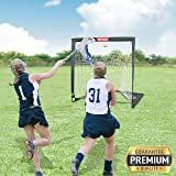 NET PLAYZ 4 x 4 x 4 Feet Lacrosse Goal Fast