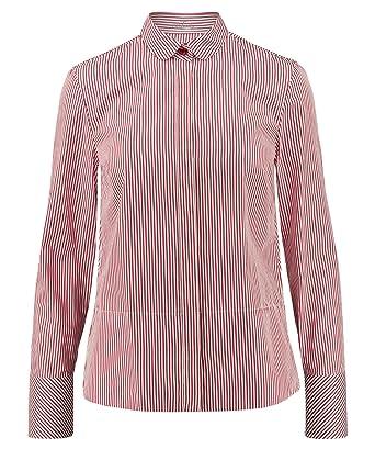 71117928b179 van Laack Damen Bluse Evita Langarm  Amazon.de  Bekleidung