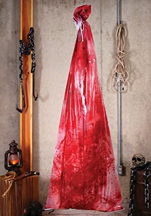 Bloody Body In 72 Inch Bag
