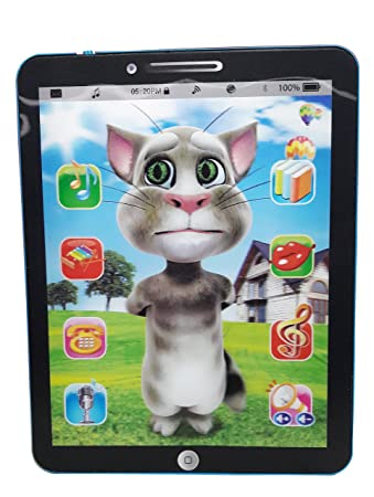 99b44af4fbf77 Buy Wish Kart Talking Tom Interactive Learning Tablet Online at Low Prices  in India - Amazon.in
