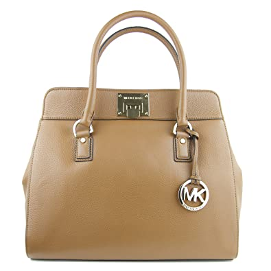 12edfd592e30 Michael Kors Astrid Large Satchel Shoulder Bag in Luggage: Handbags ...