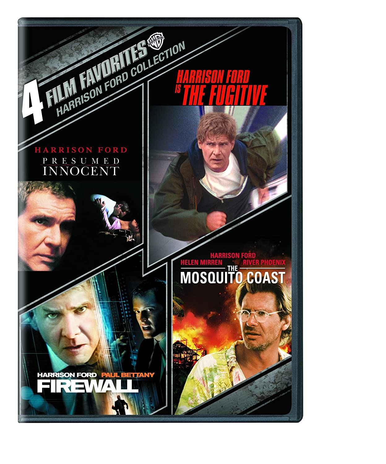 amazoncom 4 film favorites harrison ford the fugitive presumed innocent firewall the mosquito coast various movies tv - Presumed Innocent Movie