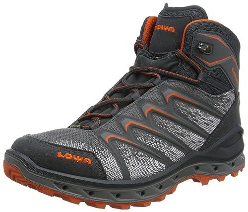 Lowa Aerox GTX Mid, Stivali da Escursionismo Alti Uomo