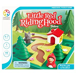 SmartGames Little Red Riding Hood Deluxe Game Board Board Games at amazon