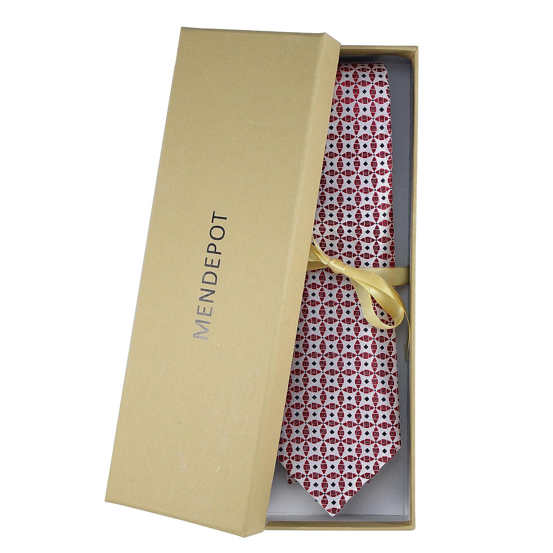 HXCMAN 8cm Champagne 100/% silk classic design men tie necktie all-match party business evening wedding groom in gift box