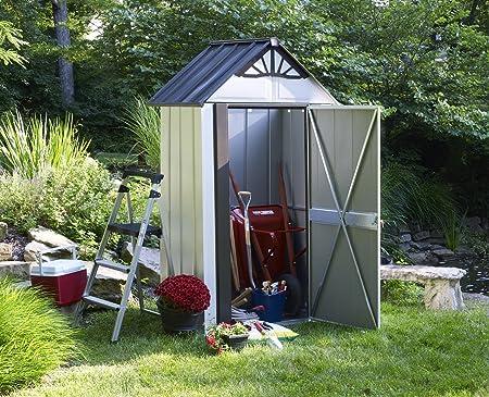 storboss sbdsm42 funda serie anillo de óxido de acero cobertizo, 4 por 1, 9 m: Amazon.es: Jardín