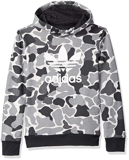 Trefoil Adidas ca Boys' Print HoodieAmazon Originals Camo 0OkX8wPn