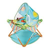 Summer Pop 'n Jump Portable Activity Center – Lightweight Baby Jumper with Toys...