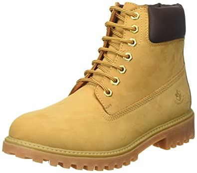 Lumberjack River, Bottines Homme, Jaune (Yellow/DK Brown M0001), 42 EU