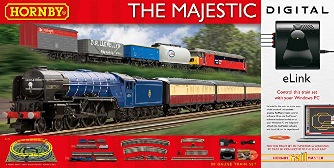 Hornby The Majestic With E-Link Dcc 00 Gauge Electric Train Set