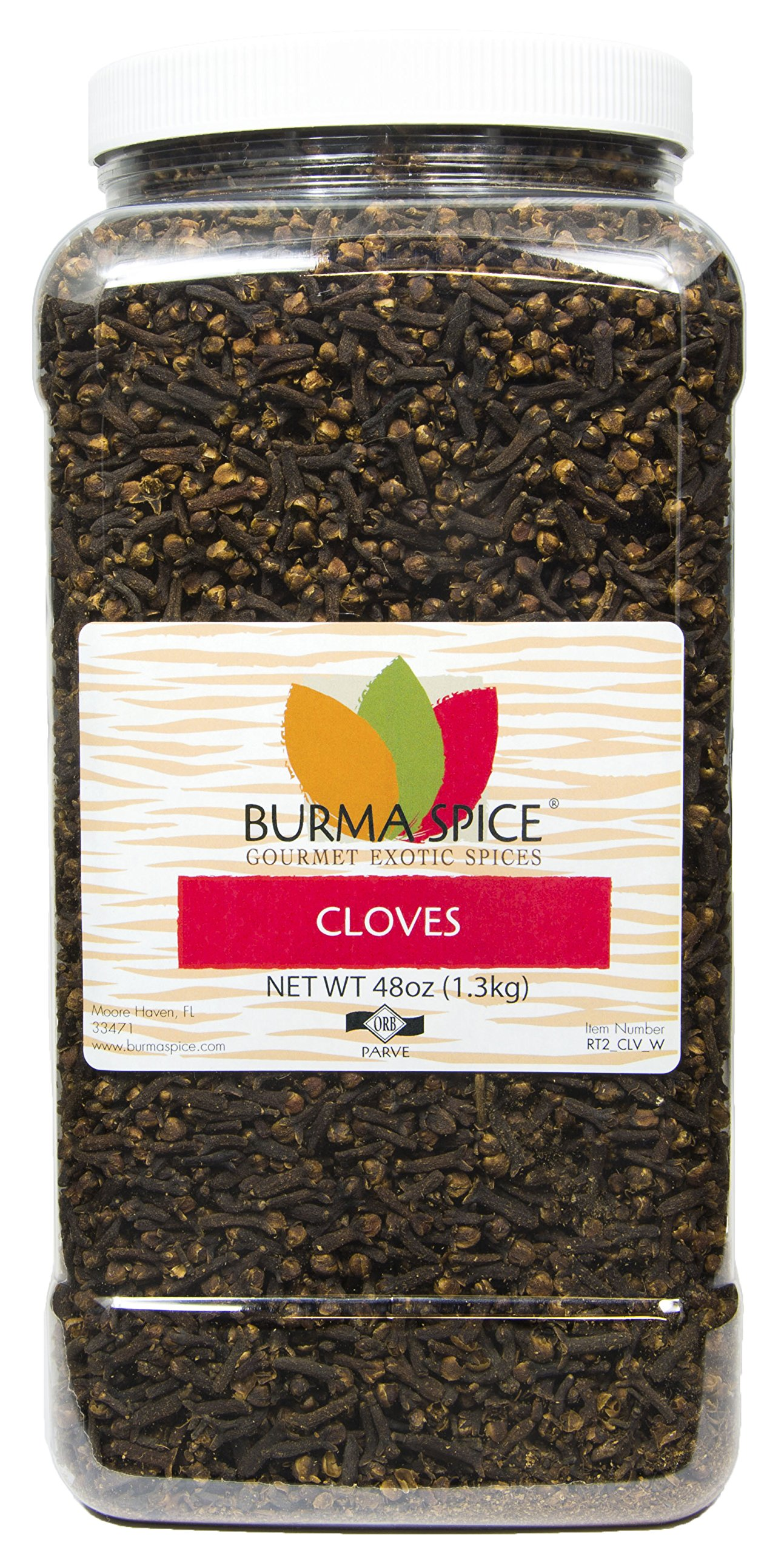 Whole Cloves : Aromatic Dried Herb : Holiday Spice Kosher (48oz.)